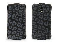 Чехол-книжка для телефона Nuoku LEO stylish leather case for Samsung i9250 Galaxy Nexus, black