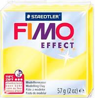 Пластика Effect, Желтая полупрозрачная, 57г, Fimo 8020-104