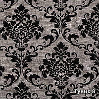 Мебельная ткань Тунис 8 (флок на ткани производства Мебтекс)