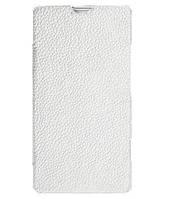 Чехол-книжка для телефона Melkco Book leather case for Sony Xperia SP C5303, white (SEXPSPLCFB2WELC)