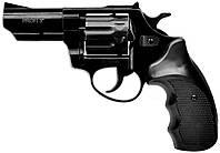 """Револьвер флобера ZBROIA PROFI-3"""" (чёрный / пластик), фото 1"""