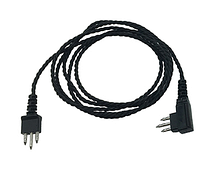 Шнур 3-х контактный КСА на одно ухо (монауральный)