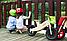 Деревянный велосипед без педалей TUPTUP розовый+защитный шлем, фото 8