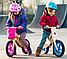 Деревянный велосипед без педалей TUPTUP розовый+защитный шлем, фото 9