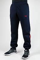 Зимние спортивные брюки Puma Scuderia manjet (темно-синий)