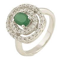 Серебряное кольцо  с натуральным агатом