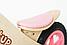 Деревянный велосипед без педалей TUPTUP розовый+защитный шлем, фото 5