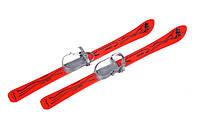 Дитячі лижі 90 см. з палками Vikers (Червоні)