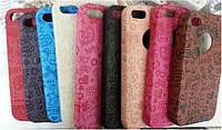 Кожаный чехол-накладка для телефона Fashion classic case with stamp for Samsung S7562 Galaxy S DuoS