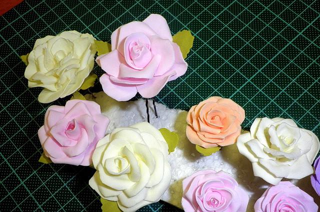 цвети для венка на голову
