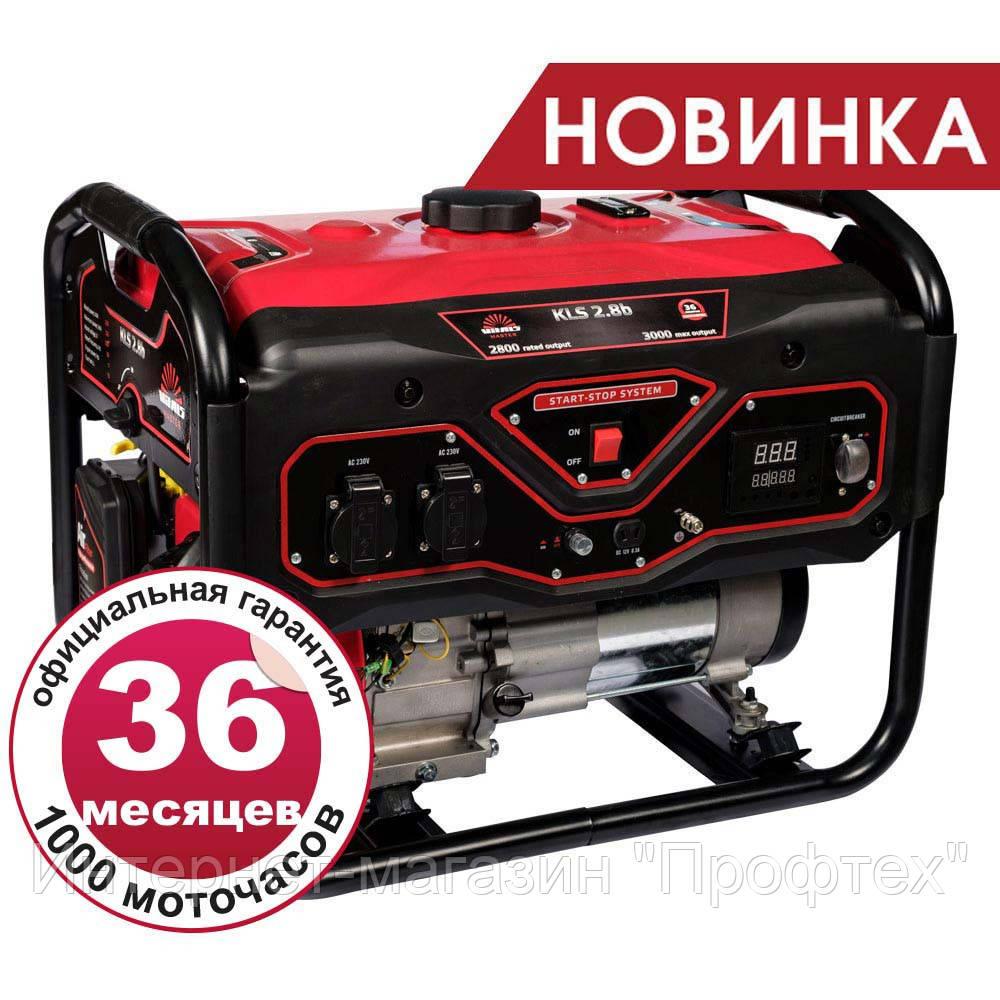 Генератор бензиновый Vitals Master KLS 2.8b