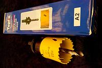 Коронка биметаллическая 35 мм (с хвоста.)