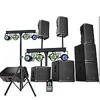 Оренда звуку, світла, спецефектів, апаратури, монтаж Луцьк. Прокат звукового обладнання в Луцьку.