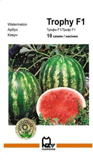 Семена Арбуз Трофи F1 10 сем Nunhems 2034