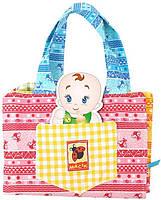 Мягкая игрушка Домик-сумочка