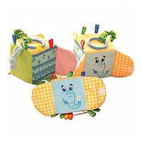 Мягкая игрушка Подвеска-кубик Зоо Слон-милаш