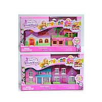 Будиночок, меблі, фігурки, 15*16*10 2 види в коробці