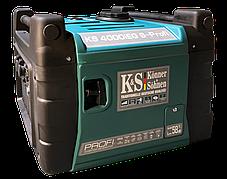 Генератор инверторный газ-бензин Konner&Sohnen KS 4000iESG PROFI (4 кВт), фото 3