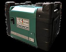 Генератор инверторный газ-бензин Konner&Sohnen KS 4000iESG PROFI (4 кВт), фото 2