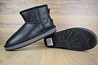 Женские кожаные угги UGG высокие ( женские сапоги низкие ), фото 1
