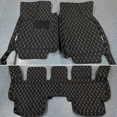 Комплект ковриков из экокожи для Honda Accord 8, фото 2