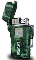 Зажигалка электроимпульсная MHZ JL317 Explorer 6741
