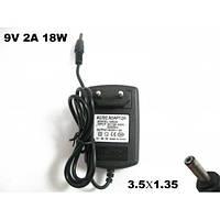 Блок питания для китайских планшетов 9V 2A 18W (3.5mm*1.35mm) B klass