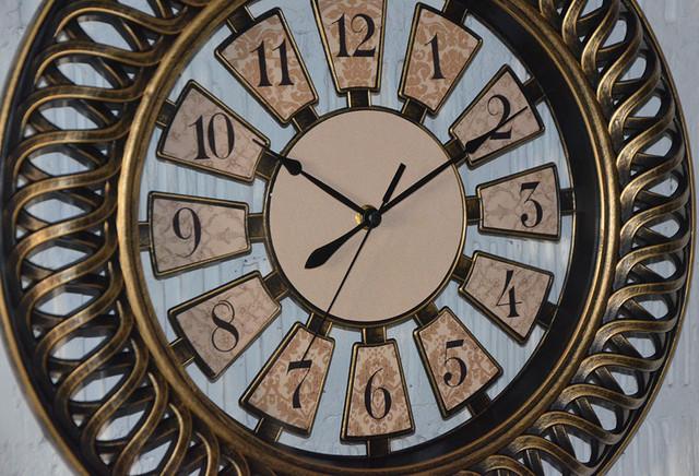 "Настенные часы ""Antiq bronze"" (фото)"