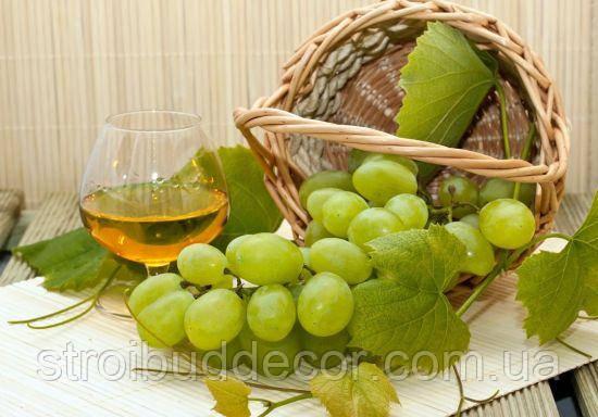 3Д Фотообои зелёный виноград  разные  текстуры , индивидуальный размер