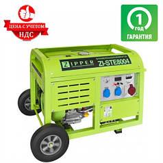 Генератор бензиновый ZIPPER ZI-STE8004 (8 кВт)