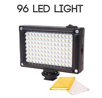 Накамерный свет Ulanzi 96 LED 4xAA  BP-4L  видео освещение