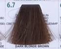 Краска для волос 3DeLuXe 100 мл. №  6.7