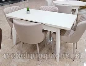 Стол ТМ-73 молочный 110/140x70, фото 2