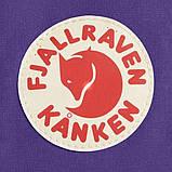 Модный женский фиолетовый рюкзак-сумка канкен Fjallraven Kanken classic на девочку, фото 9
