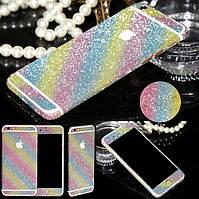 Пленка с блестками для iPhone 6 6S