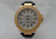 Механические часы РЕКОРД classic, механика с автозаводом, цвет корпуса золотистый