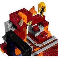 Блоковий конструктор LEGO Minecraft Портал в Подземелье (21143)