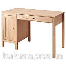 IKEA HEMNES Стол, светло-коричневый, 120x55 см (403.813.52)