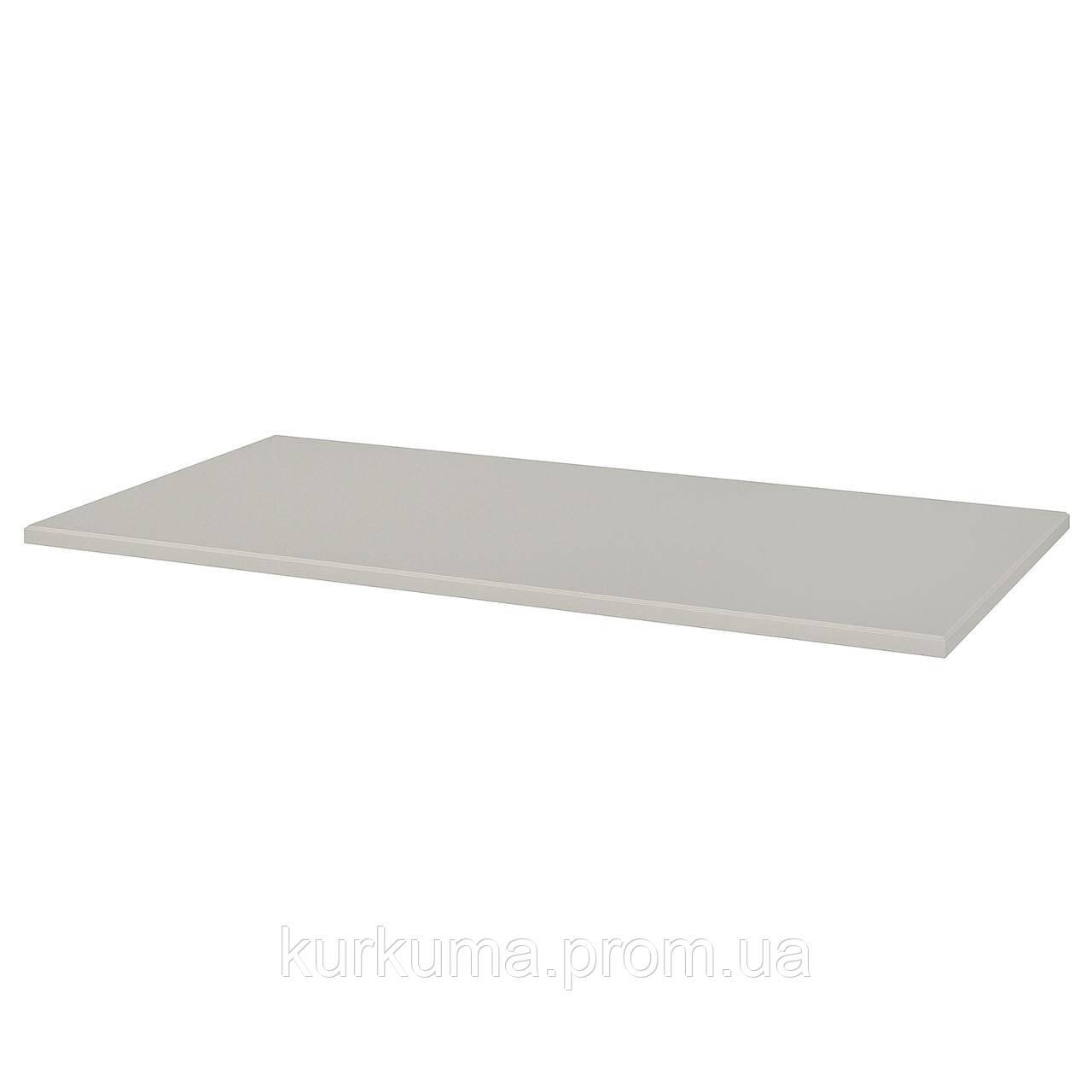 IKEA KLIMPEN Столешница, светло-серый, 150x75 см (903.537.47)