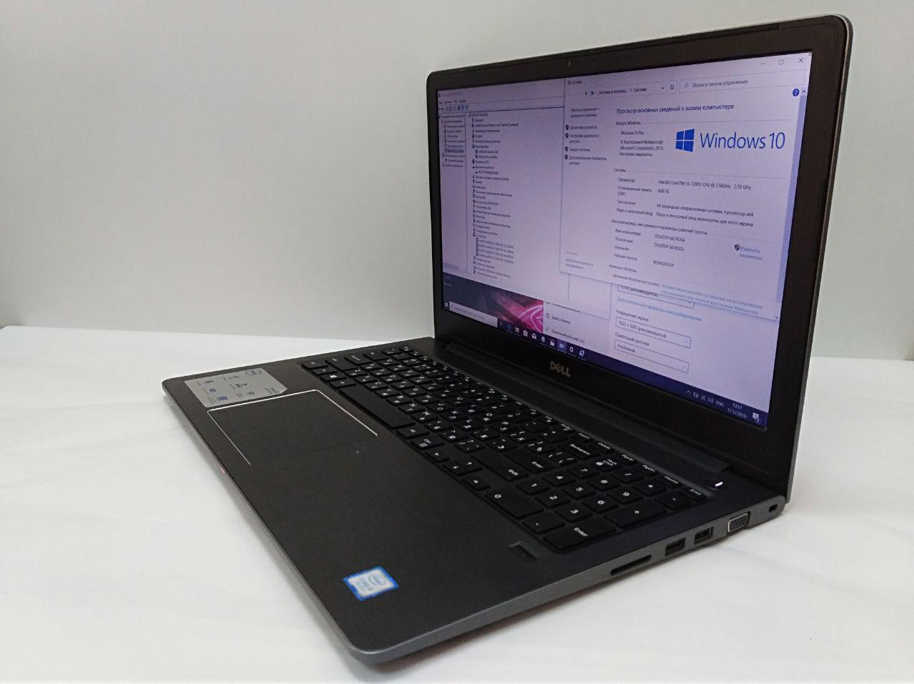 """Б/У Ноутбук Dell P62F / 15.6"""" FHD / i5-7200U / 16 RAM / 500 HDD / GeForce 940MX"""