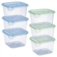 Набор контейнеров для еды 3шт/наб 450мл