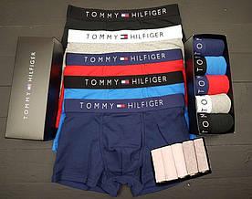 Набор брендовых мужских боксеров + носки Tommy Hilfiger