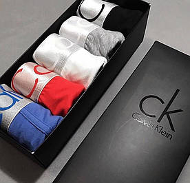 Набор нижнего белья Calvin Klein steel боксеры хлопок