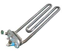 ТЭН 2000W 210мм. согнут под 45° для стиральной машины  C00050575