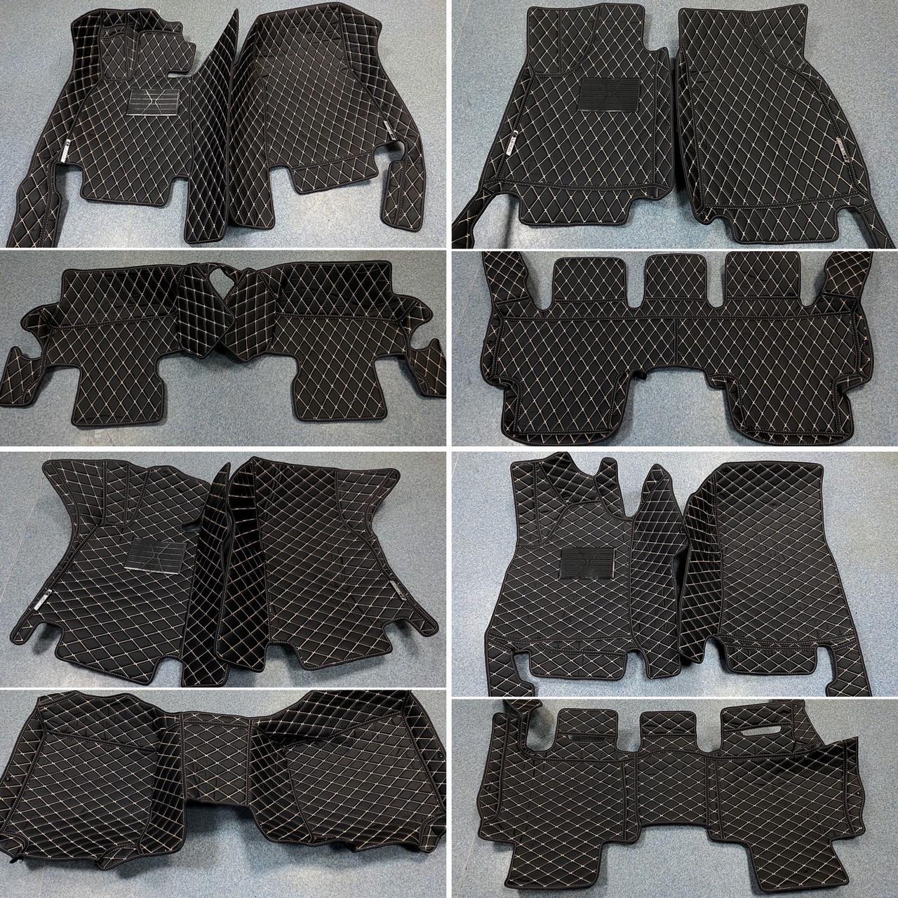 Комплект ковриков из экокожи для Range Rover Velar