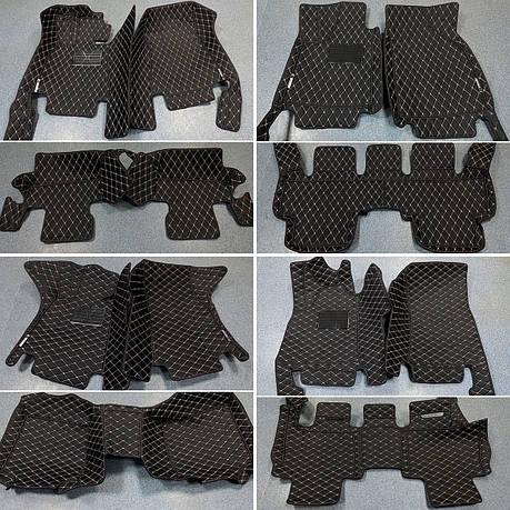 Комплект ковриков из экокожи для Range Rover Velar, фото 2