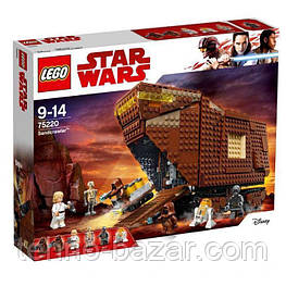 Lego Star Wars ( 75220 ) Sandcrawler Песчаный краулер