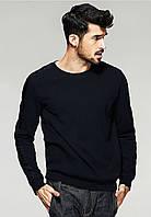 Классический черный мужской свитшот, фото 1