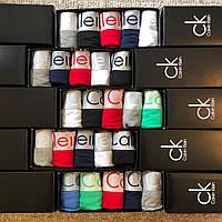 Calvin Klein Steel боксеры модал подарочный набор мужских трусов из 5 шт + носки в подарок