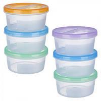 Набор контейнеров для еды 3шт/наб 500мл